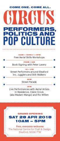 Circus: Performers, Politics & Pop Culture: Grand Opening - Circus Events - CircusTalk